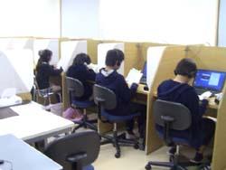 竹園進学教室の授業風景