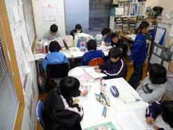 セカンドスクールの学習環境